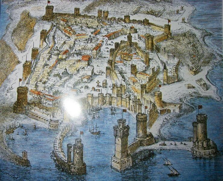Родос в 1480 г.