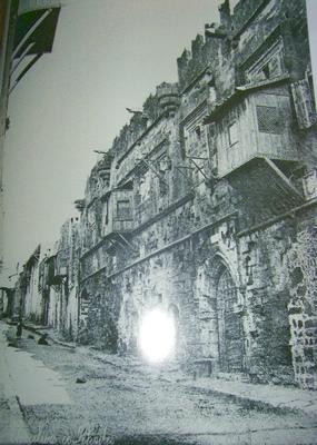 Улица Иппотон в начале XX века (фото из книги «Рыцарский Родос«)
