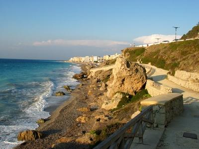 Эгейское побережье недалеко от отеля