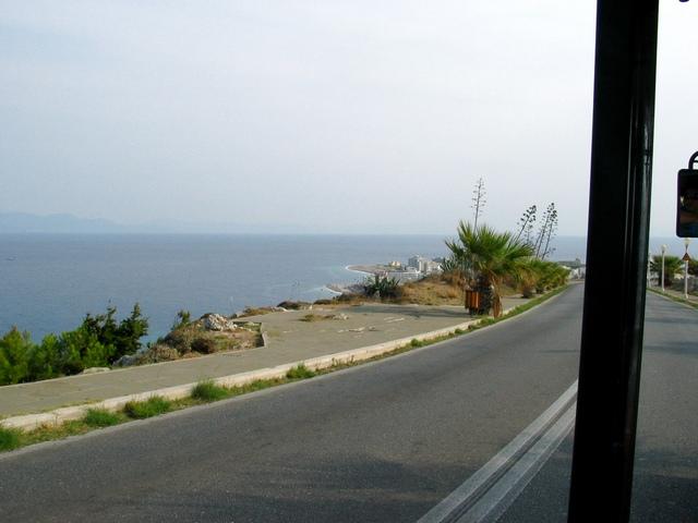 Вид на Аквариум с дороги. Снято во время поездки на паровозике