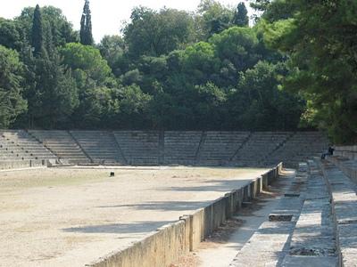 Древний стадион Родоса